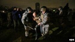 Задержания в Бирюлеве