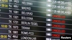 Monitor na istanbulskom aerodromu nakon terorističkog napada