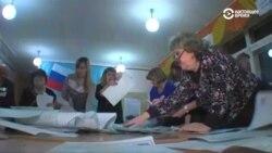 Путин набирает больше 70 процентов на выборах президента