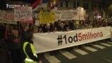 Beograd: Protestna šetnja do Vlade Srbije i RTS-a