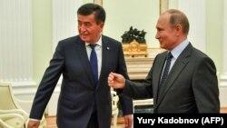 Путин ва Ҷеенбеков дар Кремлин