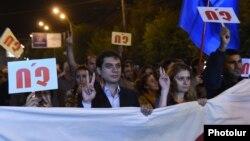 «Ոչ»-ի ճակատի հանրահավաքը Գյումրիում, 25-ը սեպտեմբերի, 2015թ.