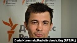 Виталий Овчаренко, общественный активист, ветеран АТО, дончанин
