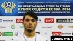 Аксҳои Хуршед Бекназаров, футболбози тоҷик