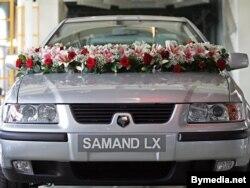 Іранскі Samand, зроблены ў Беларусі