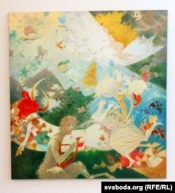 Алена Шлегель, карціна «Сны Эгейскага мора»