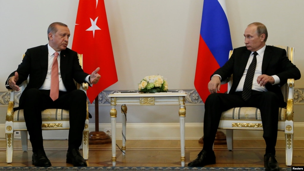 Erdogan, Putin seek to restore bilateral ties