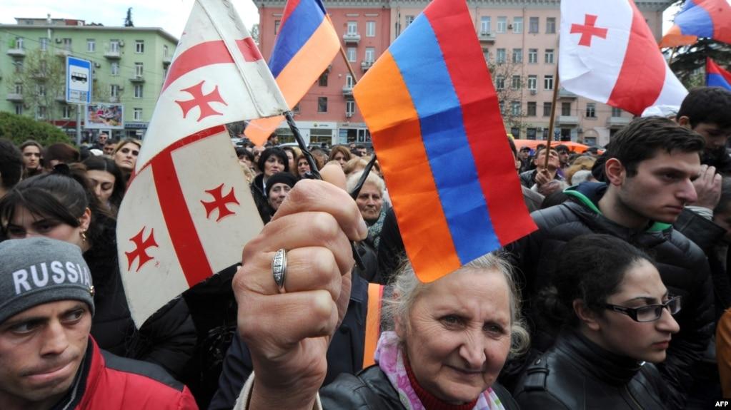 что общего у армян азербайджан и грузин