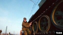 Техника и имущество Тбилисского гарнизона были вывезены из Грузии четырьмя железнодорожными эшелонами