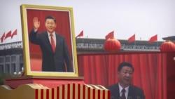 Қытайдағы әскери шеру және Гонконгтегі наразылық