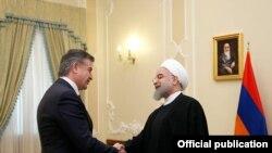 Hassan Rouhani və Karen Karapetian