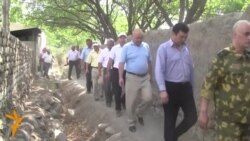 Комиссия побывала на кыргызско-таджикской границе