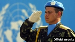 Український військовий-миротворець, фото архівне