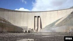 A dam without water in Iran. 2017