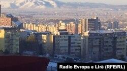 Pamje e Prishtinës në mëngjes