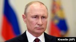 Ռուսաստանի նախագահ Վլադիմիր Պուտինը, 11-ը մայիսի, 2020թ.