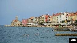 Пиранскиот Залив меѓу Словенија и Хрватска