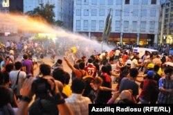 Gezi parkında etirazlar, iyul, 2013