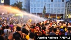 Парк Гези в Стамбуле, 8 июля 2013 года.