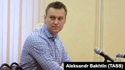 Олексій Навальний на засіданні суду в російському Кірові, 1 лютого 2017 року