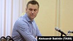 Олексій Навальний у суді Кірова, Росія, 31 січня 2017 року