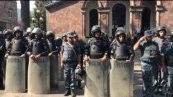 Իջևանի բախումների գործով բերման է ենթարկվել 22 անձ, 13-ը ձերբակալված են