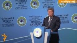 Есимов обвинил своих оппонентов в финансировании из-за рубежа