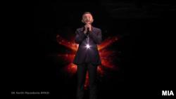 Васил Гарванлиев, македонски преставник на Евровизија