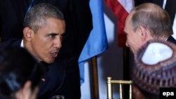 دیدار دو رئیسجمهوری در میهمانی نهار دبیر کل سازمان ملل متحد