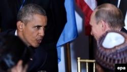 Обама һәм Путин БМОның Гомум җыены вакытында фикер алыша