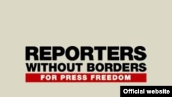 World -- Reporters without borders logo