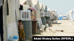 دهوك:احد مخيمات النازحين
