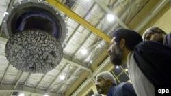 На заводе по переработке урана в иранском городе Исфахан. Иллюстративное фото.