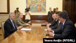 Sastanak Tomislava Nikolića sa predstavnicima Srba sa severa Kosova, 7. juna 2012.