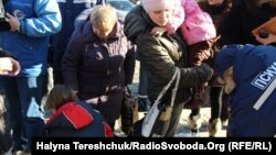 Переселенці з Донбасу, 16 лютого 2015 року
