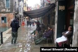 Венеция днем 12 ноября