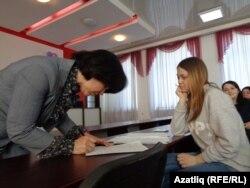 Светлана Кайсина сулда делегатлар исемлеген барлый