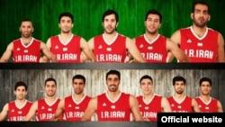 اعضای تیم ملی بسکتبال ایران در راه جام جهانی اسپانیا