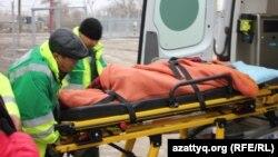 Госпитализация детей с симптомами отравления в селе Березовка. Западно-Казахстанская область, 4 декабря 2014 года.