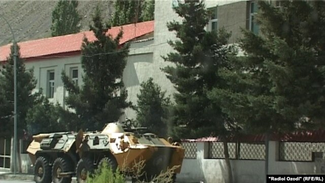 Reports say that the city of Khorog is calm now after clashes in Tajikistan's Gorno-Badakshan region between government forces and armed militants left dozens of people dead.