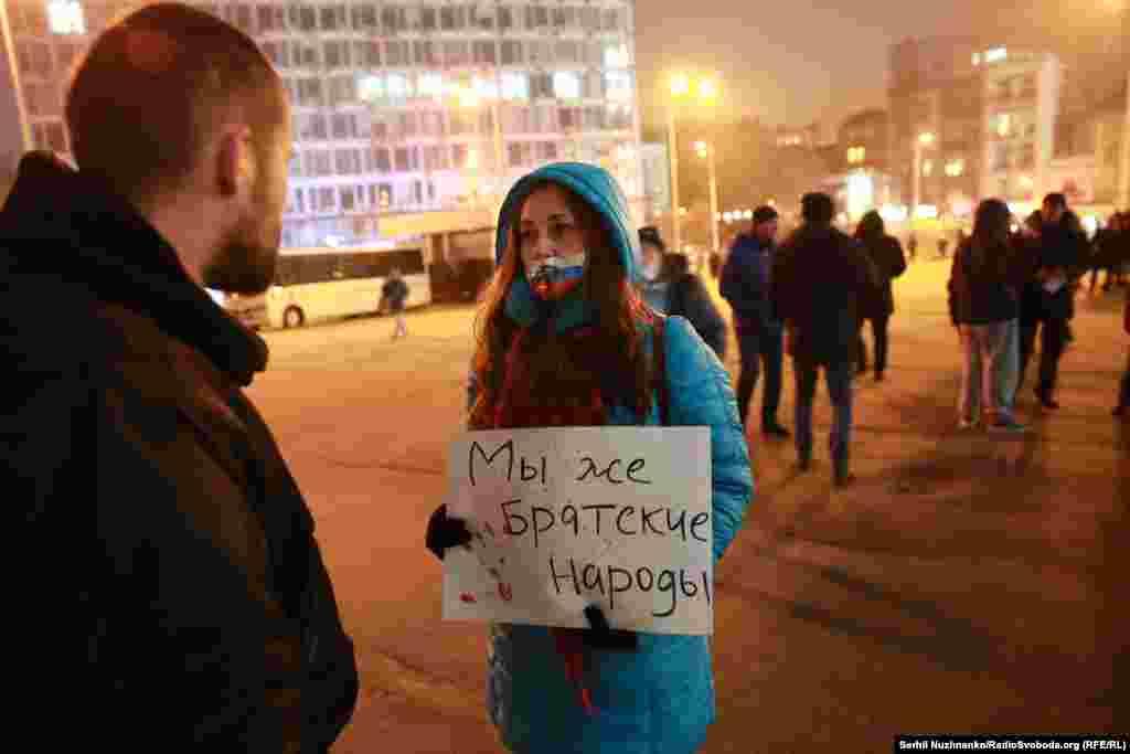 По словам активистов, эти исполнители в России «не стесняются получать награды из рук политиков и шоуменов, которые призывают к вооруженной агрессии против Украины»