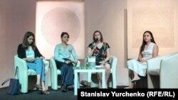 Презентація книги «Півострів страху. П'ять років несвободи в Криму» в Києві, 24 травня 2019 року
