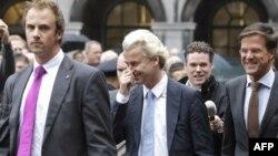 Liderët politikë holandezë, foto nga arkivi