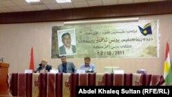 """جانب من ملتقى """"يونس أحمد"""" القصصي في دهوك"""