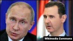 Русия һәм Сүрия президентлары