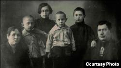 Семья П. Е. Щетинкина, 1926 год
