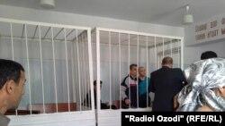 Суд над Бурхоном Абдуллоевым. 2015 год