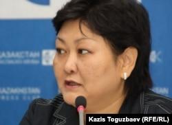 «Сауығу» қоғамдық қорының президенті Ардақ Жанәбілова. Алматы, 23 маусым 2011 жыл.