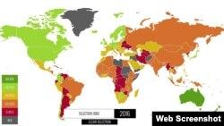 В рейтинге «Индекса экономической свободы 2016» Узбекистан был включен в группу стран с «репрессивной экономикой».