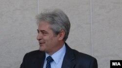 Претседателот на ДУИ Али Ахмети ј